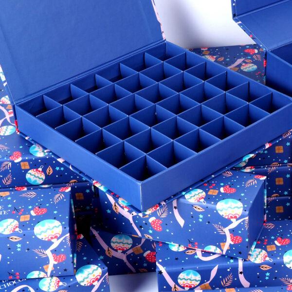 bimonde mukavva çikolata kutusu