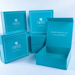 nets brand cardboard box