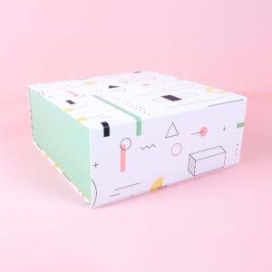 renkli desenli mıknatıslı kutu2