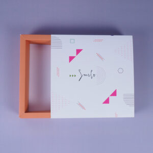renkli duvarlı kutu