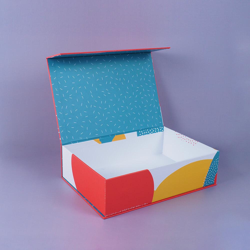 renkli tasarım mıknatıslık mukavva kutu