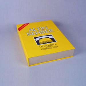 altın rehber kitap kutu tasarımı