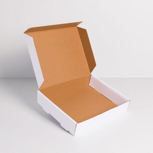 beyaz pizza mikro kutu 25cm-20cm-5cm