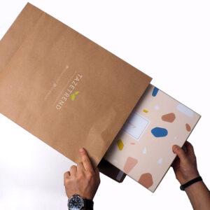 hediye kutuları için kraft dosyalar