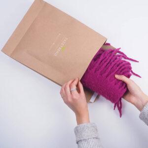 kalın tekstil ürünleri için kraft dosyalar