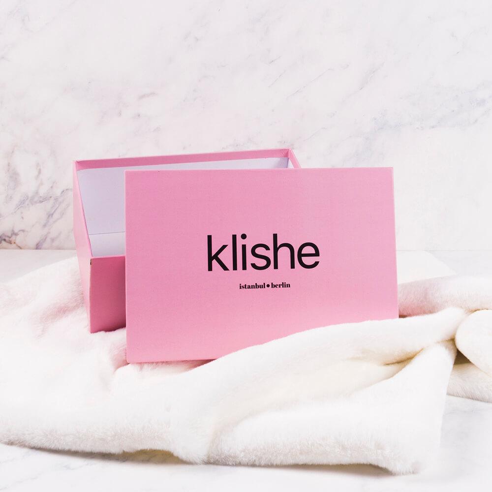 klishe marka hediye kutu tasarımı