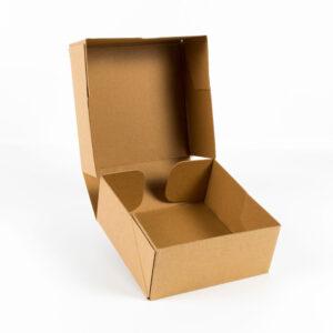 kraft yapıştırma mikro kutu 17cm-17cm-7cm2