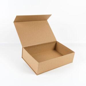 kraft cardboard box with magnet 30cm-20cm-8cm