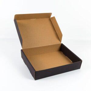 black pizza micro box 25cm-20cm-5cm2