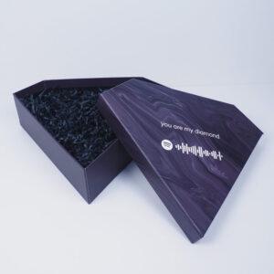 spotify kodlu sevgililer günü diamond kutu tasarımı