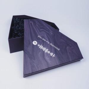spotify kodlu sevgililer günü diamond kutu tasarımı2
