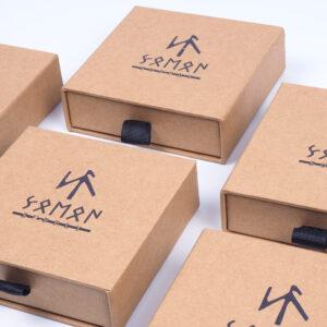 mini kraft accessory box designs