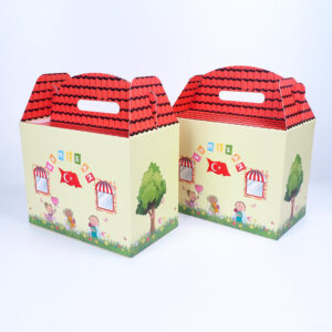 Special design cardboard box on the theme of April 23