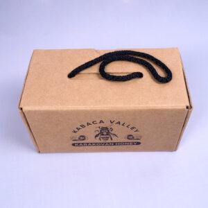 kraft compartment box model