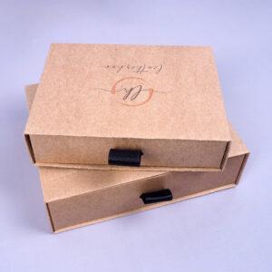 kraft çekmeceli kutu modeli5