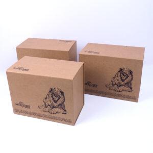 kraft çekmeceli özel seri kutu tasarımı