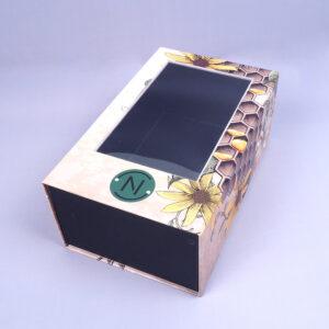 transparent pvc magnetic cardboard box model2