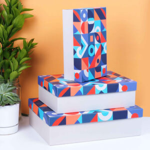 renkli hediye kutu seti