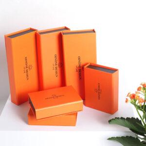 turuncu temalı takı kutusu modeli