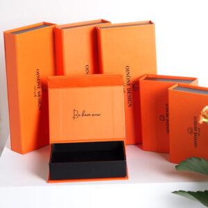 turuncu temalı takı kutusu modeli2