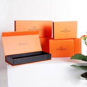 turuncu temalı takı kutusu modeli3