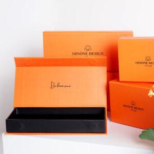 turuncu temalı takı kutusu modeli4