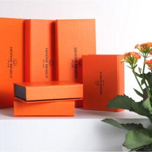 turuncu temalı takı kutusu modeli5